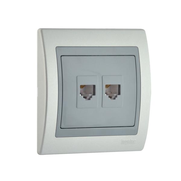 Dual Rj45 Socket